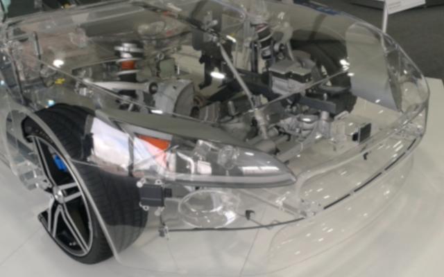 Intégration radar sur voiture