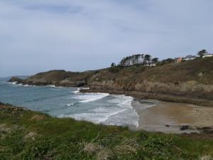 La plage du Petit Minou à Plouzané