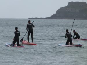 Le paddle à Plouzané