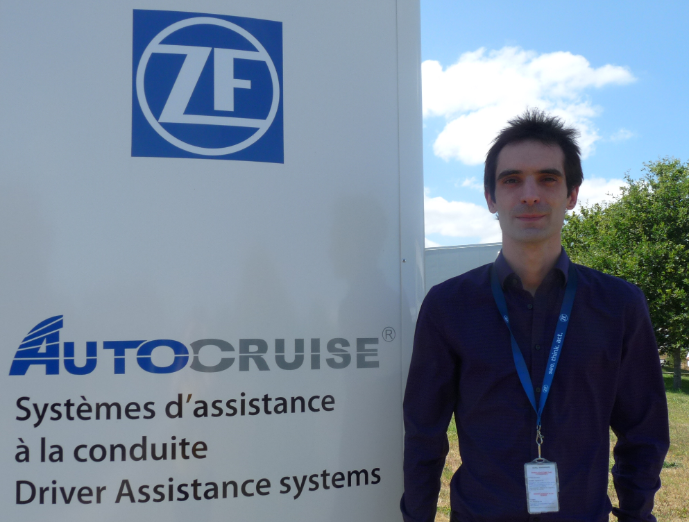 Photo de Loïc Arzel support production à Autocruise