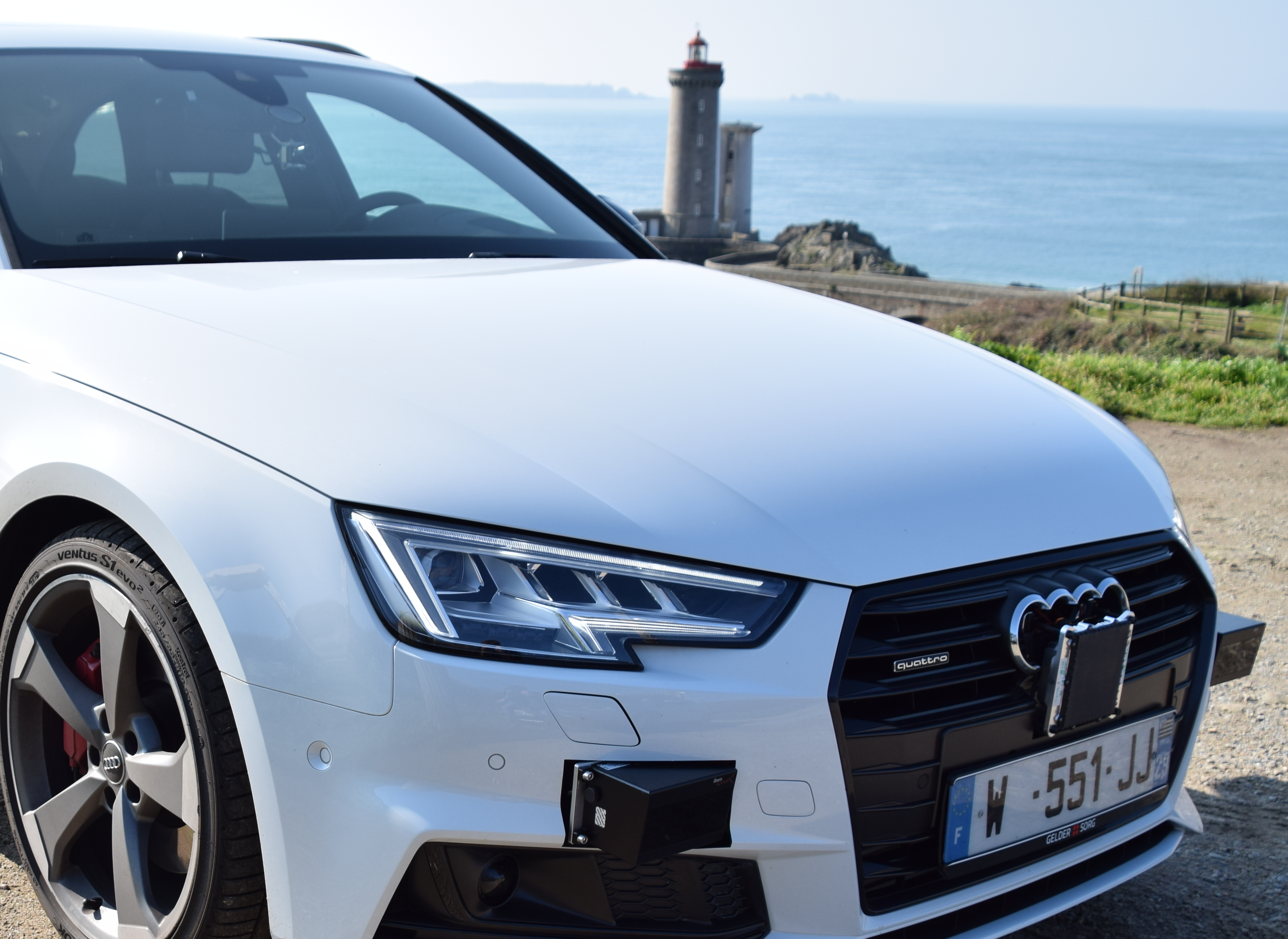 Véhicule d'essai Audi_Phare du Minou